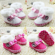 baby boots girls Snow winter Soft bottom Crib Shoes Suit for 0-18 Months
