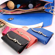 Large Organizer Wallet Checkbook Clutch Bag Womens Pocketbook Purse BAG