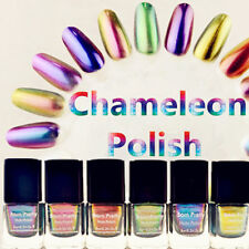 6Colors Born Pretty Chameleon Nail Polish Varnish 6ml (Black Base Color Needed)