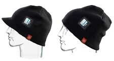 NEW i360 Sound Music Audio Black Winter Beanie Hat Helmet Headphones Mp3 Msrp$30