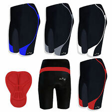 Mens Cycling Shorts Padded Cycle  MTB Street Racing Bicycle Shorts Anit-Bac