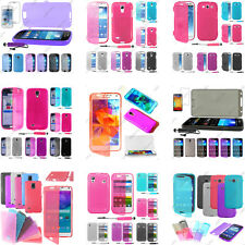 Housse Etui Coque Portefeuille Silicone Gel Samsung Galaxy S5 S4 S3 S2 S Mini