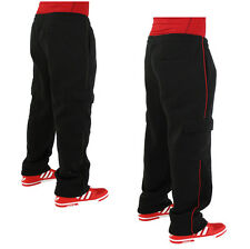 Moda Essentials Men's Fleece Cargo Sweatpants Pants
