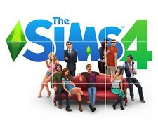 THE SIMS 4 GAME HUGE MOSAIC POSTER 35 INCH x 25 INCH