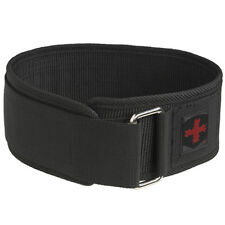 "Harbinger 4"" Nylon Weight Lifting Belt"
