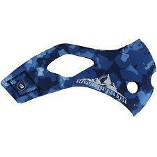 Elevation Training Mask 2.0 Blue Camo Sleeve Only