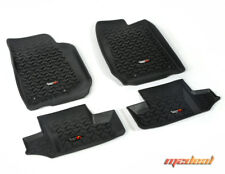 Rugged Ridge Floor Liner Kit, Black, 2015 Jeep 2-Door Wrangler # 12987.03