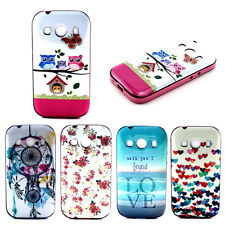 1pc Latest Pattern Jacquard PC+TPU Case Cover For Samsung Galaxy Ace 4 SM-G357FZ