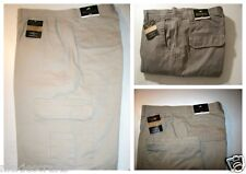 REDHEAD Flannel Lined Mens Cargo Pants Stone Olive 32x32  34x34