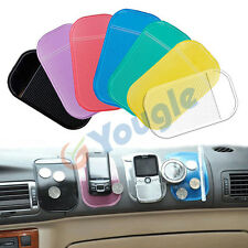2 Pcs Car Sticky Anti Slide Non Slip Mat Pad Dash Cell Phone Magic GPS Holder