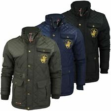 Mens Quilted Hunting Jacket by Santa Monica 'Battle'