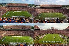 Auburn Tigers Jordan Hare Stadium College Football Canvas Frame 36x24 CHOICES