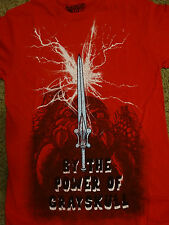 He Man Masters Of The Universe Sword By the Power of Grayskull T-Shirt