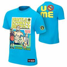 "JOHN CENA ""THROWBACK"" BRAND NEW WWE AUTHENTIC ADULT MENS T- SHIRT"