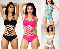 Women Monokini One-Piece Sexy Bikini Swimsuit Swimwear Bathing Beach Suit New