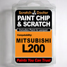 MITSUBISHI L200 TOUCH UP PAINT Stone Chip Scratch Car Repair Kit . 2005 - 2009