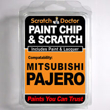 MITSUBISHI PAJERO TOUCH UP PAINT Stone Chip Scratch Car Repair Kit . 2014 - 2015