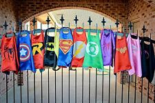 Childrens Satin Super Hero Cape Book Week Fancy Dress Superhero
