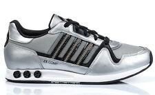 ADIDAS ORIGINALS WOMENS TRAINERS, SHOES, ZX COMP W ZIP UK 4.5 to 5 SILVER