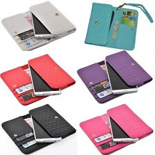 luxury Wallet multifunction Card Cover Case with wrist For WIKO