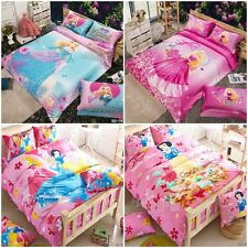 Princess Single/Double/Queen/King Bed Quilt/Doona/Duvet Cover Set New Cotton New