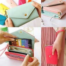 Fashionable Wallet Purse Leather Phone Case Cover for Samsung Galaxy S4 S5