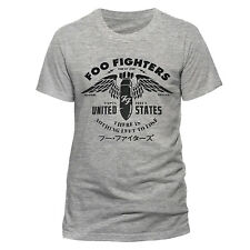 FOO FIGHTERS There Is Nothing To Lose T-shirt (Grey) Mens New 'Official'