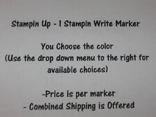 Stampin Up 1 Write Dual Tip Marker - Pick your Color - RETIRED Colors