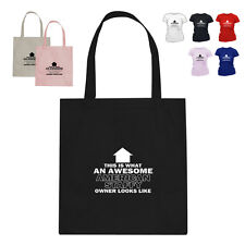 American Staffordshire Terrier Dog Lover Owner Cotton Tote Bag HT Arrow Design