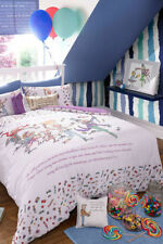 Roald Dahl Charlie & Chocolate Factory Single Double Quilt Doona Duvet Cover Set