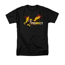 Dexters Laboratory Monkey Cartoon Network Licensed Adult Shirt S-3XL