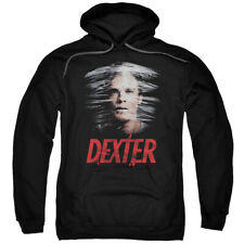 Dexter TV Show Plastic Wrap Showtime Licensed Adult Pullover Hoodie S-3XL