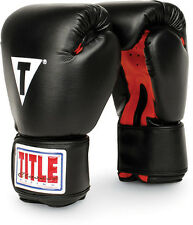 TITLE Boxing Gloves Kickboxing Training Gear Fitness Equipment Cardio 12 14 oz