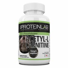 Acetyl L-Carnitine Capsules 1500mg Diet Pill Muscle Gain Fat Burner Weight Loss