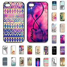 "Pattern painted Hard Case Cover For Apple iPhone 4 5 5C 6 4.7"" Protector Slim"