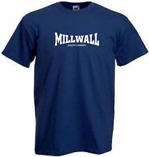 NEW Millwall FC South London Dundee Blue Navy Football T-Shirt - All Sizes
