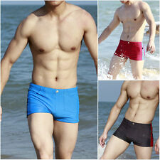New Fashion Sexy Men's Boxer Swimming Swim Shorts Trunks Swimwear Pants XL L M