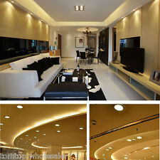 3W Round LED Recessed Ceiling Panel Light Room Down Lamp Cold/Warm White Light