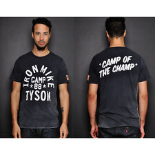 Roots of Fight Iron Mike Tyson Camp T-Shirt - Black