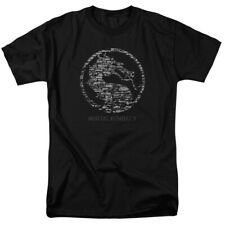 Mortal Kombat X Dragon Stone Seal Game Logo Licensed Adult Shirt S-3XL
