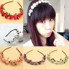 1pc New Attractive Fashion Floral Flower Bohemian Hairband for Women and Girls