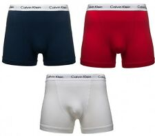 NEW Calvin Klein Boxer shorts Cotton Stretch Underwear Men's Trunk 3-Pack