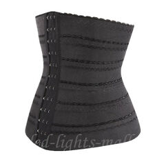 Belly Band Corset Waist Trainer Cincher Slim Body Shaper Elasticated Band X42