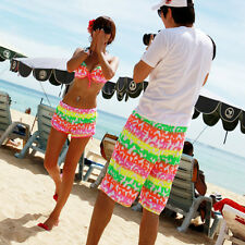 Men/Women's Lovers Surf Boardshorts Board Shorts Sports Beach Swim Letter Pants