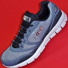 NEW Men's FILA MENTOR Gray Casual Running Athletic Sport Fashion Sneakers Shoes