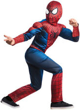 Boys Child Marvel Collection Amazing SPIDERMAN 2 Deluxe Spiderman Costume