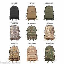 40L Outdoor Molle Military Tactical Backpack Rucksack Trekking Bag Camping Bag