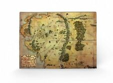 THE HOBBIT (JOURNEY MAP) WOODEN WALL HANGING  43cm X 59cm