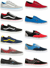 VANS AUTHENTIC ERA OLD SKOOL VULCANISE NAVY BLACK BLUE RED TRAINERS SHOES DD3