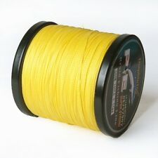 PE 6-100LB 100m 200m 300m 500m 1000m Dyneema 4Braid Fishing Line Spectra Yellow
